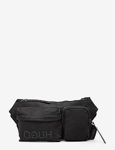 Record_Waist bag - BLACK