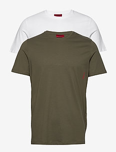 T-SHIRT RN TWIN PACK - DARK GREEN