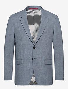Herman194 - enkeltkneppede blazere - turquoise/aqua