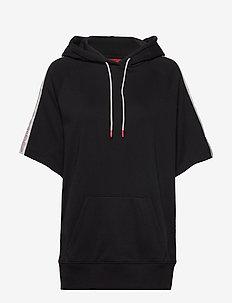 Denty - hoodies - black