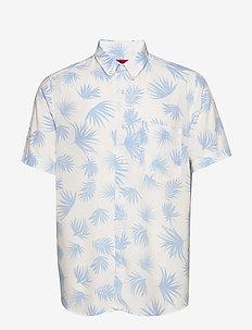 Ekilio - kortærmede skjorter - open white