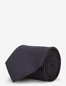 Tie cm 7 - slips - dark blue