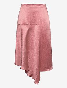 Ralovi - midi kjolar - dark pink