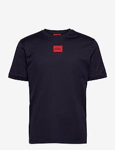 Diragolino - basic t-shirts - dark blue