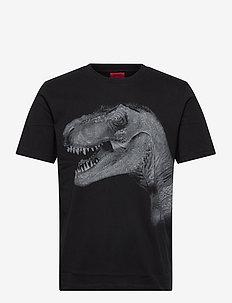 Drex - kortärmade t-shirts - black