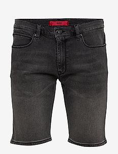 HUGO 708-S 193_DA - jeans shorts - grey
