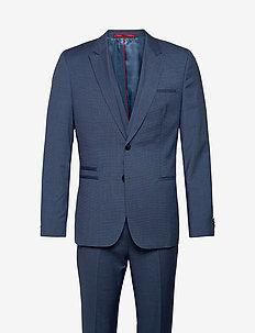Arti/Hesten204V1 - enkelknäppta kostymer - medium blue