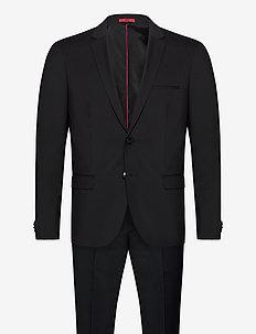 Arti/Hesten204X - enkelknäppta kostymer - black