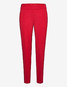 Himerle - suorat housut - medium red