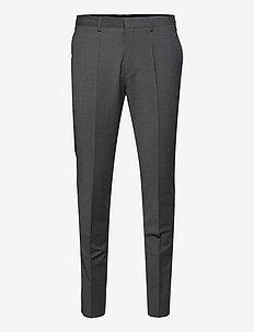 HestenM204X - formele broeken - dark grey