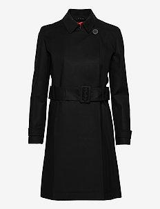 Makia-1 - trenchcoats - black