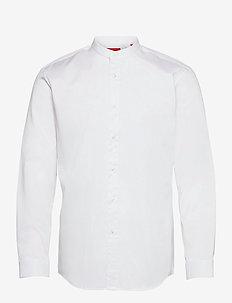 Kaleb - basic skjortor - open white