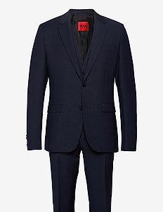 Astian/Hets212V1X - enkeltkneppede dresser - dark blue