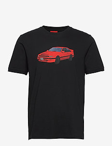 Dozeki - kortärmade t-shirts - black