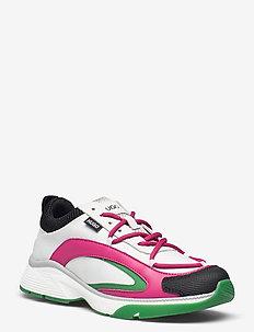 Gilda_Runn_rist - niedrige sneakers - open white