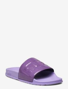 Match_Slid_pt - rantasandaalit - bright purple