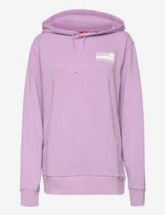 Dasweater - hættetrøjer - bright purple