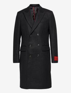 Midras2141 - manteaux de laine - black