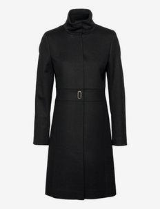 Malinas - lette frakker - black