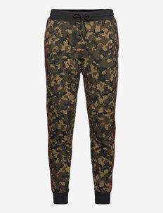 CamoPants - spodnie dresowe - dark green