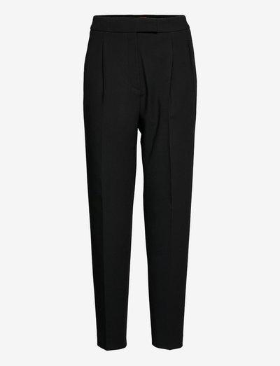 Himaros - bukser med lige ben - black