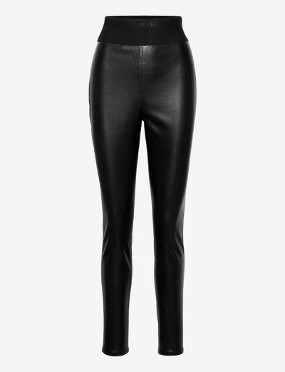 Honati-1 - læderbukser - black