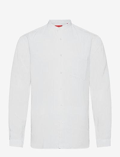 Eddies-W - rutiga skjortor - open white
