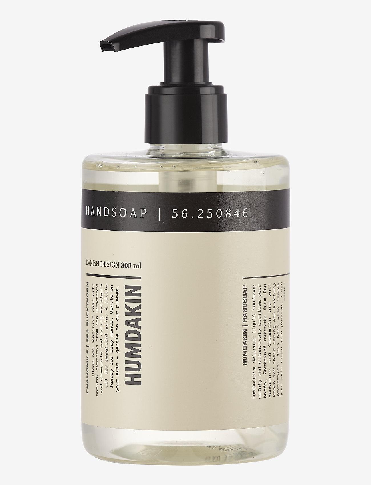 Humdakin - 01 hand soap - chamomile and sea bu - handtvål - clear - 1