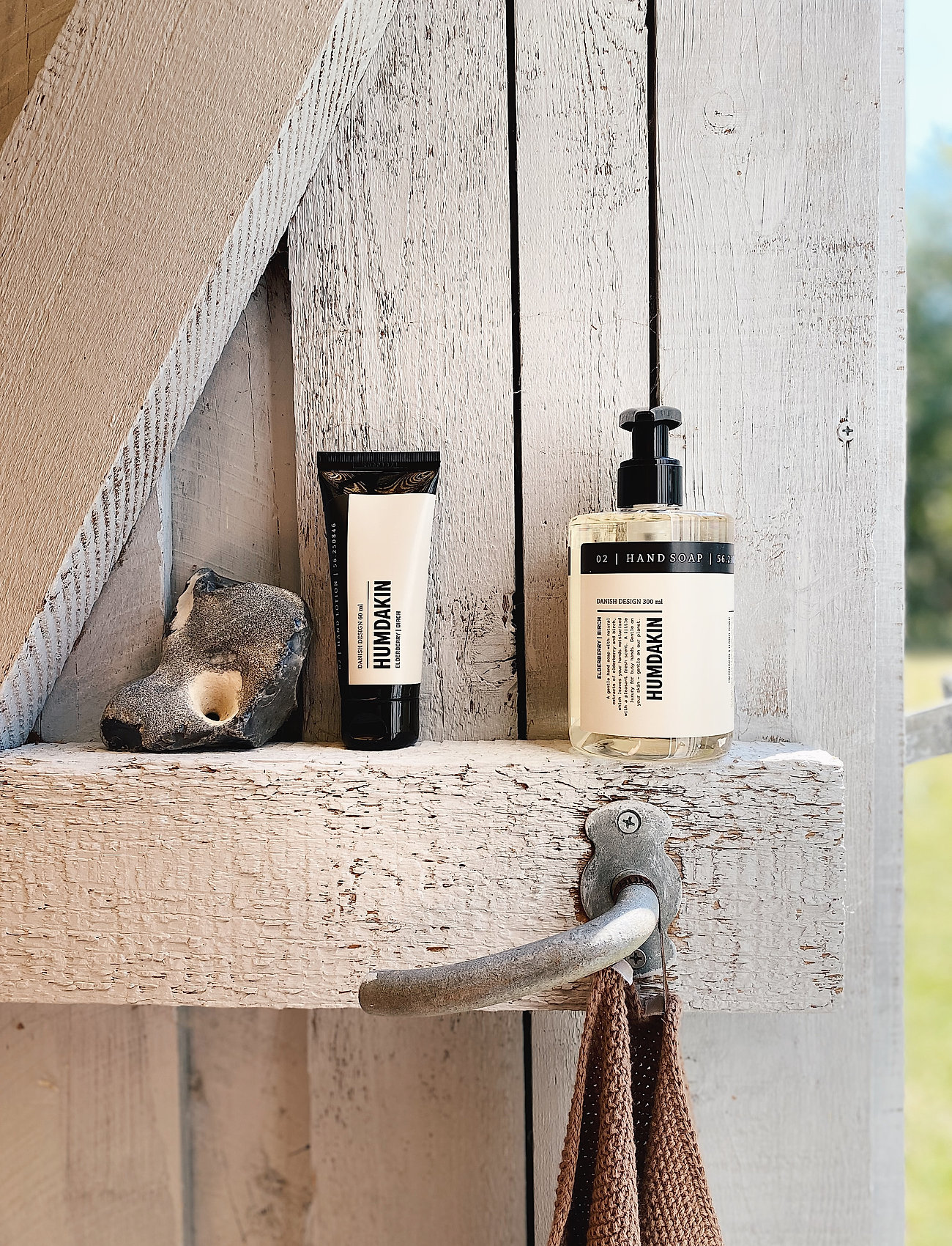 Humdakin - 02 hand soap - elderberry and birch - handtvål - clear - 0