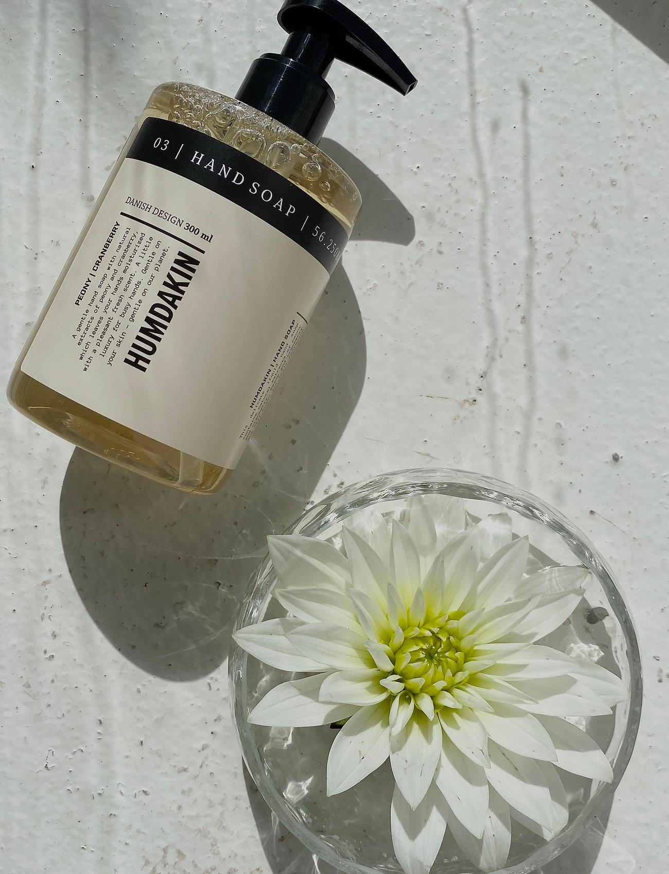 Humdakin - 03 hand soap - peony and cranberry - handtvål - clear - 0