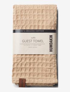 Guest waffle towels - handdukar & badlakan - sand