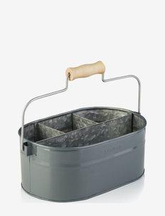 system bucket grey - förvaring - natural
