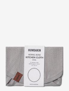 Oval kitchen cloth - keittiöpyyhkeet - stone