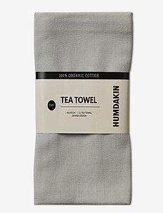 Organic tea towel - 2 pack - kökshanddukar - stone