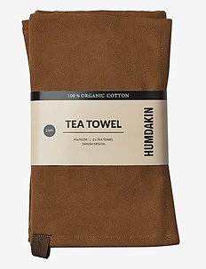 Organic tea towel - 2 pack - kjøkkenhåndklær - sunset