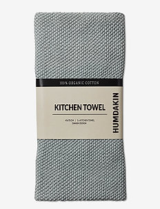 Knitted Kitchen Towels - kökshanddukar - stone