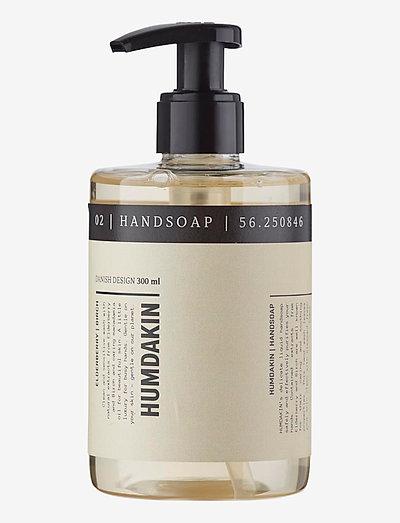 02 hand soap - elderberry and birch - håndsæbe - clear