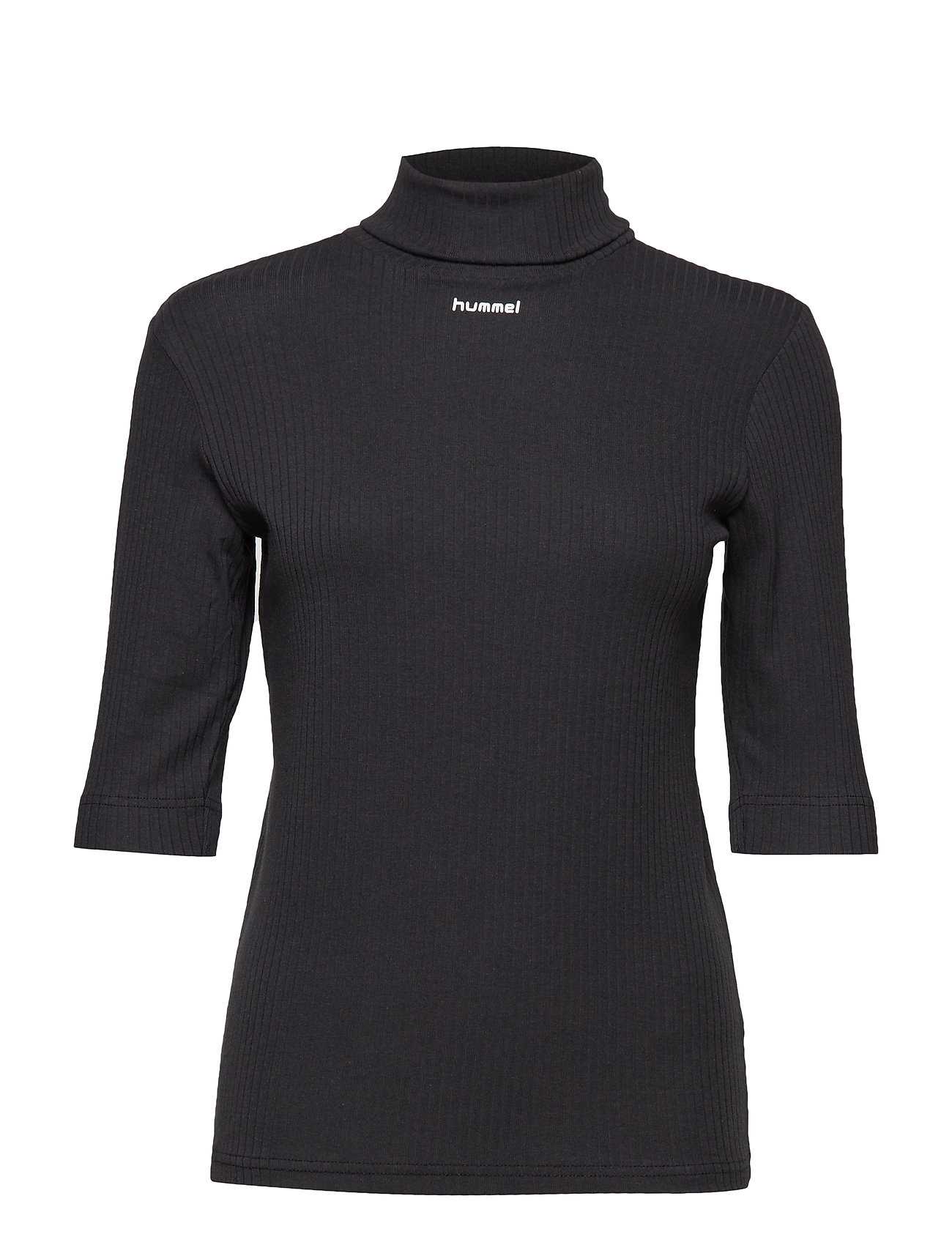 Hmlalberte T Shirt SS T shirt Top Sort Hummel Hive