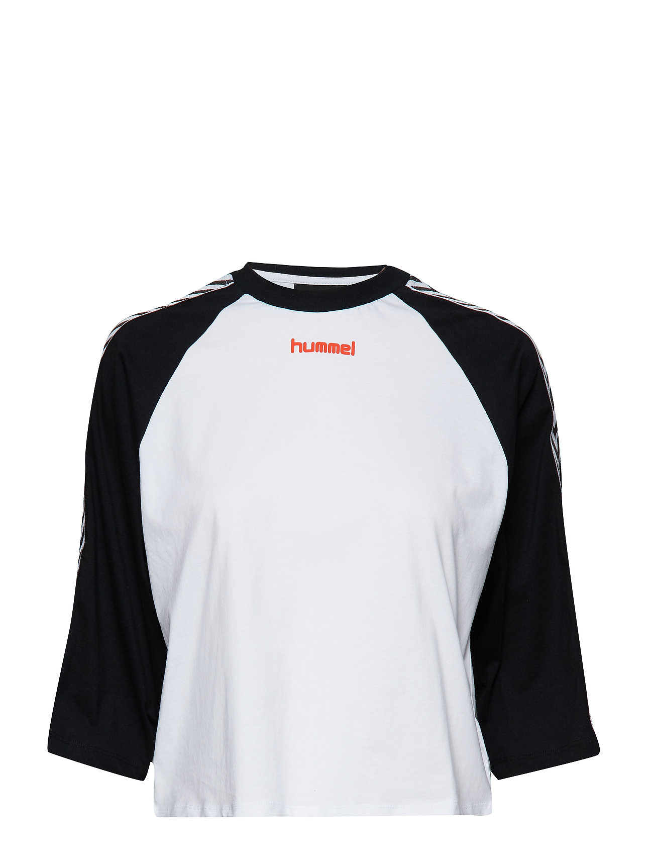 Hmlaida T Shirt SS Langærmet T shirt Hvid HUMMEL HIVE