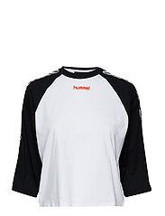 hmlAIDA T-SHIRT S/S - BLACK