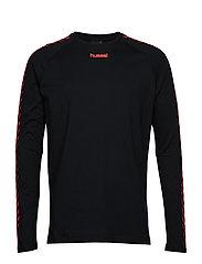 hmlAGGE T-SHIRT L/S - BLACK