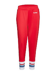 hmlBOLETTE PANTS - TRUE RED
