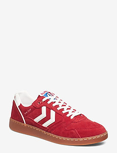 HUMMEL HB TEAM OG - baskets basses - chili pepper