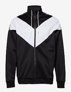 hmlASTON ZIP JACKET - track jackets - black