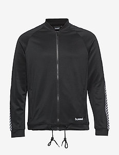hmlANAKIN ZIP JACKET - sweatshirts - black
