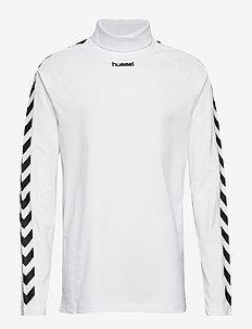 hmlCORNELIUS T-SHIRT L/S - logo t-shirts - white