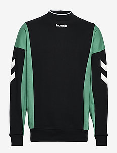 hmlCLAUS SWEATSHIRT - sweatshirts - bright green