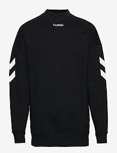 hmlCHRIS SWEATSHIRT - sweatshirts - black