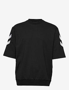 hmlCLAES T-SHIRT SS - kortermede t-skjorter - black