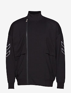 hmlCONRAD ZIP JACKET - sweatshirts - black